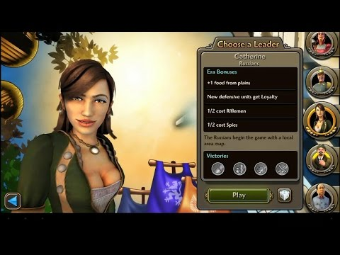 Sid Meier's Civilization Revolution 2 Leaders