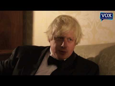 Boris Johnson interviewed by Denis Noble