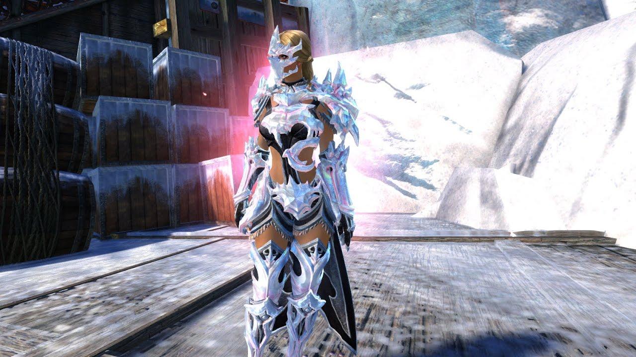 GW2 Ice Encasement Outfit (700 Gems)