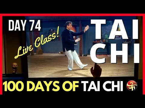 Online Tai Chi Training - Live Class! | 100 Days of Tai Chi | Learn Tai Chi at Home