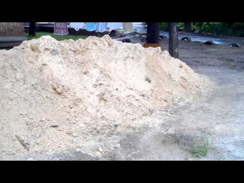 куб песка это сколько фото