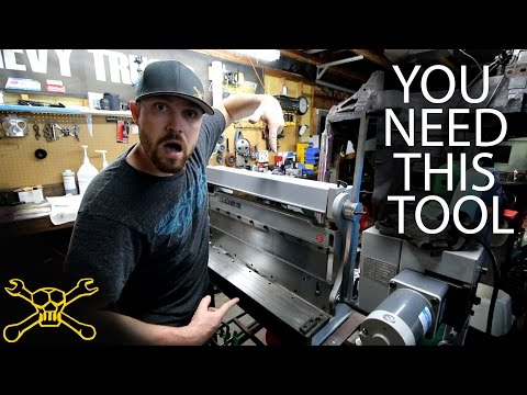 You Need This Tool - Episode 21 | 3 in 1 Shear Brake & Slip Roll