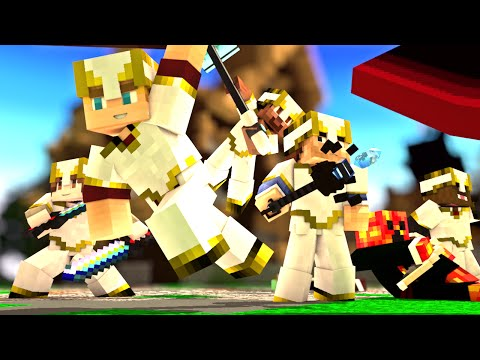 Minecraft Song ♪ Mobs Cant Handle Us a Minecraft CrazyCraft Parody Minecraft Animation