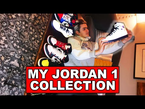 My Jordan 1 Collection - Troy Reviews His Jordan 1's While Playing Session