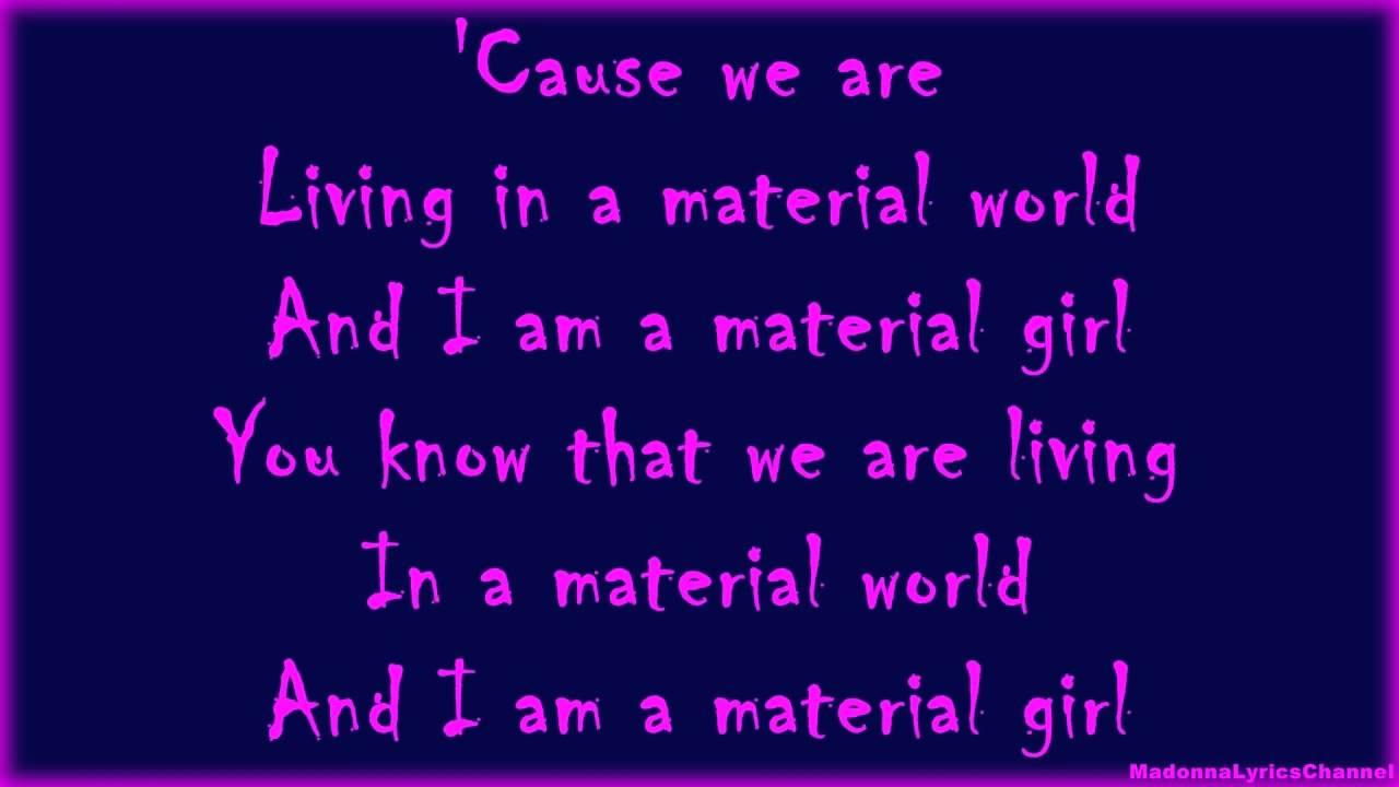 madonna-material-girl-lyrics-on-screen-illuminati-queen