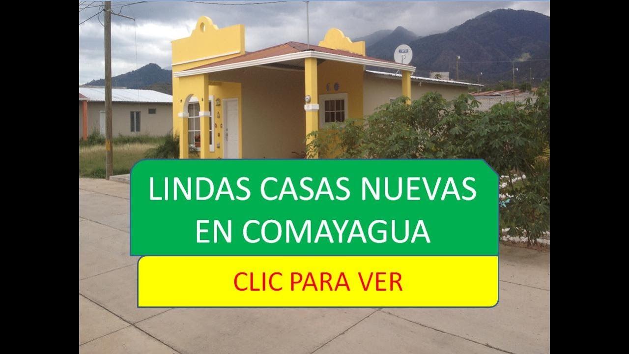 Lindas casas nuevas en comayagua comayagua youtube for Fachadas de casas modernas en honduras