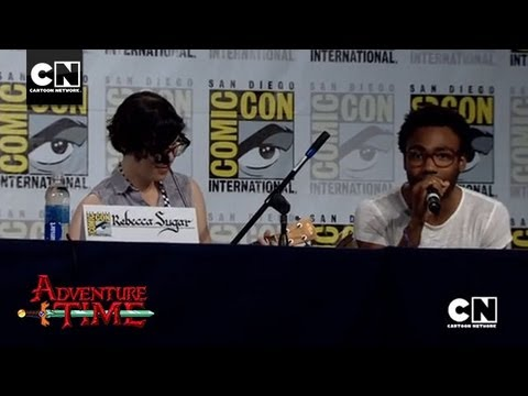 Donald Glover & Rebecca Sugar Sing Bad Little Boy  SDCC 2013  Cartoon Network