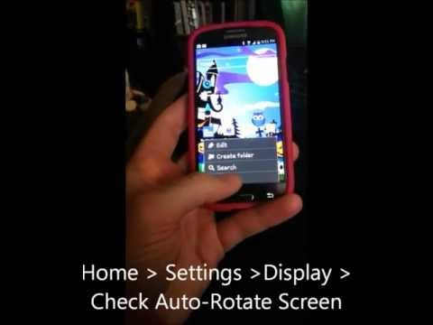 How to turn auto rotation on iphone 6 8