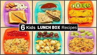 6 Kids MONDAY to Saturday LUNCH BOX Recipes   Quick Tiffin Box Recipe Ideas  MintsRecipesHindi