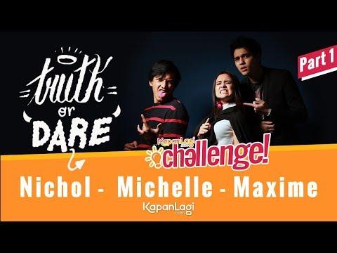 Truth Or Dare: Maxime - Michelle Ziudith - Jefri Nichol [PART 1]