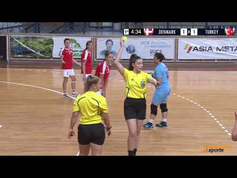 DENMARK X TURKEY | WOMEN'S WORLD DEAF HANDBALL CHAMPIONSHIPS 2018