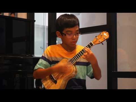 Evan's Ukulele - The Unknown by Kalei Gamiao (cover)
