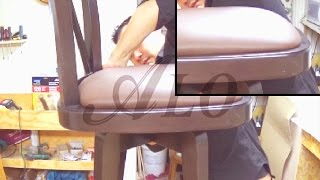 DIY: HOW TO UPHOLSTER A BAR STOOL - ALO Upholstery