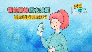 【邱醫來了】 餐前餐後喝水減肥,會不會對胃不好?
