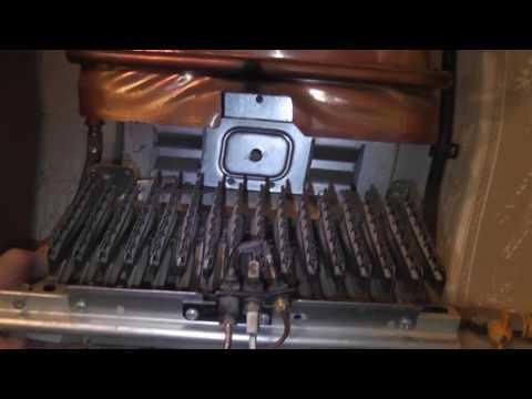 промываем теплообменник газовой колонки ariston CF14 P