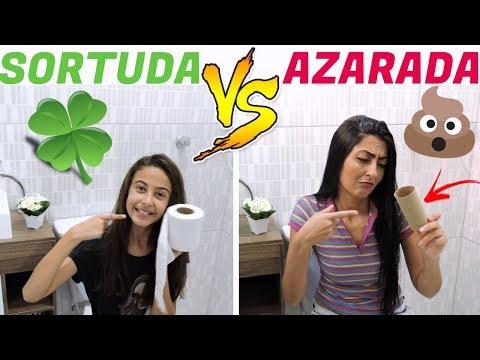SORTUDA VS AZARADA \LETICIA E SIL