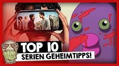 Top 10: Neue SERIEN Geheimtipps auf Netflix, Amazon & Co!  #NerdRanking