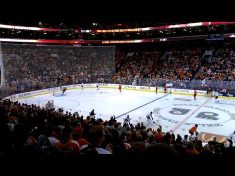 Flyers Open Practice - Players Entrance!!!