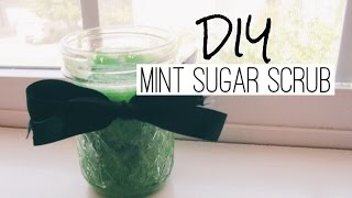 DIY Mint Sugar Scrub Thumbnail