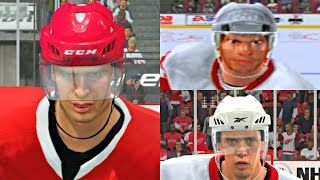 Pavel Datsyuk Player Progression from NHL 2003 to NHL 17! #DET #PS4