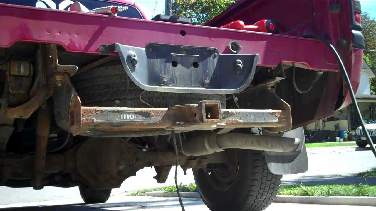 2001 Gmc Sierra Trailer Wiring Diagram Diy 1998 Dodge Ram 1500 Rollpan Install Youtube