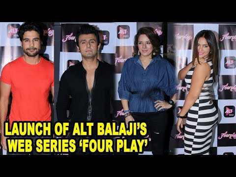 Rajeev Khandelwal, Sonu Nigam & Many At Celebration Launch Of Alt Balaji's Web Series 'Four Play'