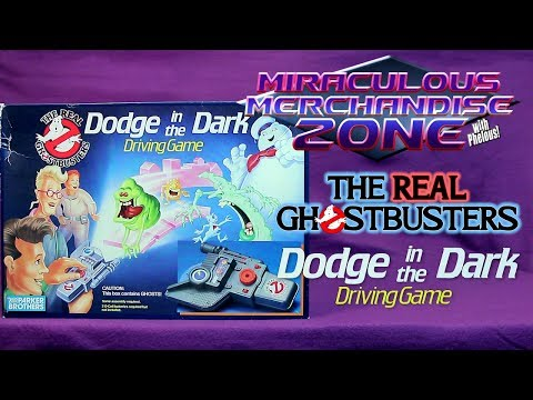 MMZ: The Real Ghostbusters Dodge in the Dark Driving Game