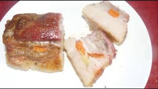 #Сало запеченное в духовке. Очень вкусный и простой рецепт.