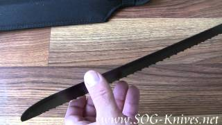 "SOG SOGfari Machete MC-01 13"" Demo"