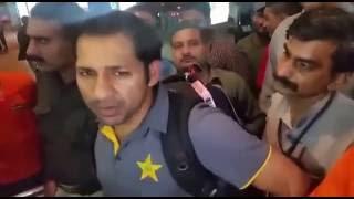 After England Series Sarfraz Ahmed in Karachi...