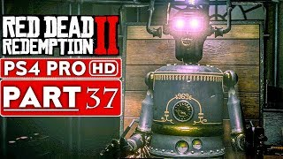 RED DEAD REDEMPTION 2 Gameplay Walkthrough Part 37 [1080p HD PS4 PRO] - No Commentary