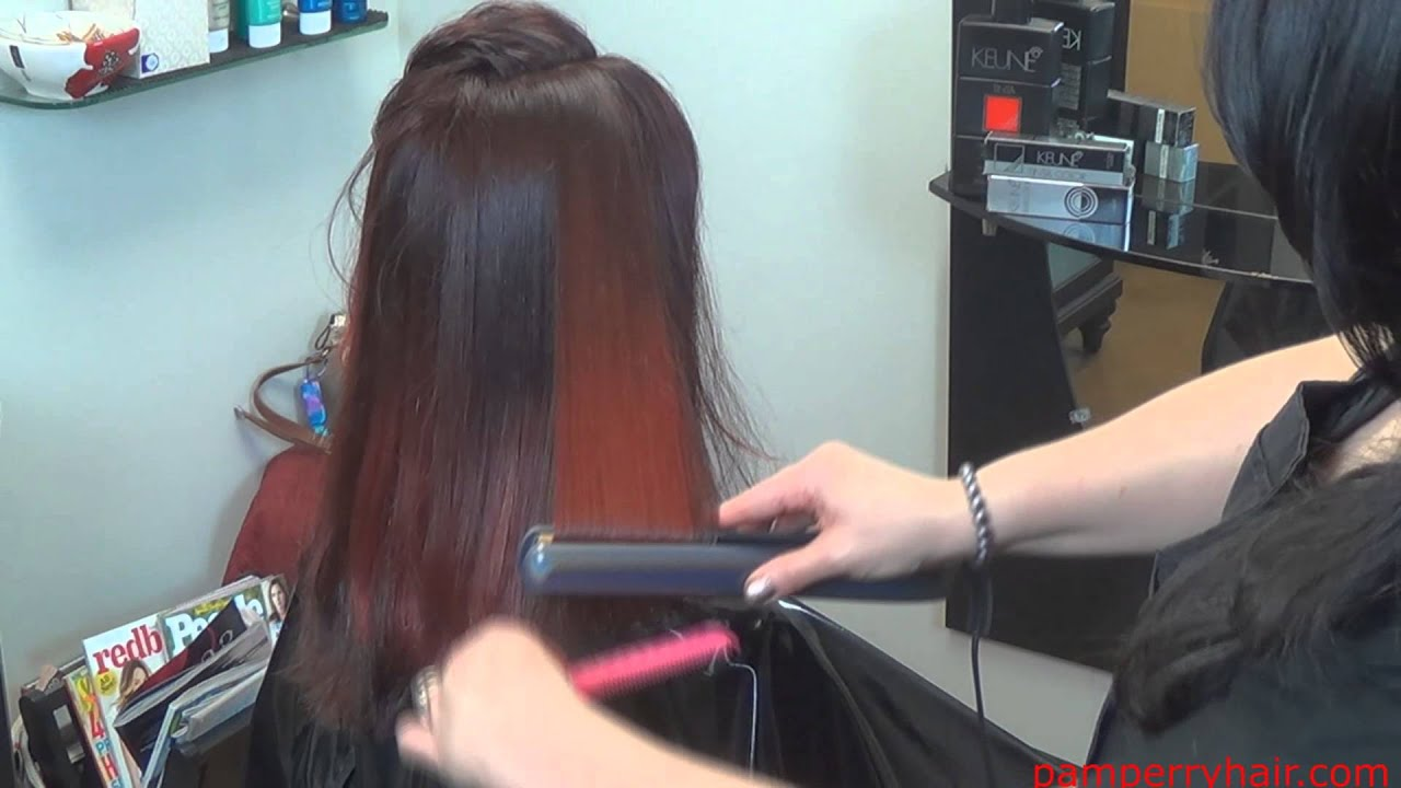 Balayage highlights red on red part 3 youtube pmusecretfo Image collections