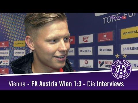 Vienna - Austria 1:3 - Die Interviews