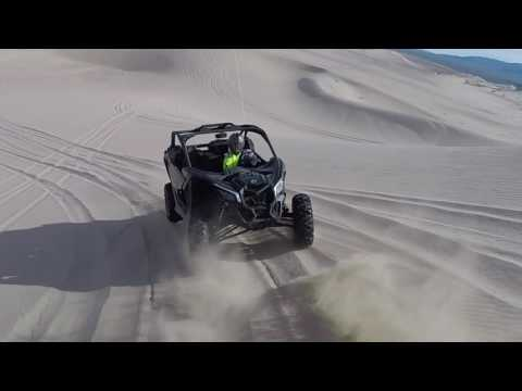 2017 Can-Am X3 VS 2017 Polaris XP Turbo in the dunes RAW – Dirt Wheels Magazine