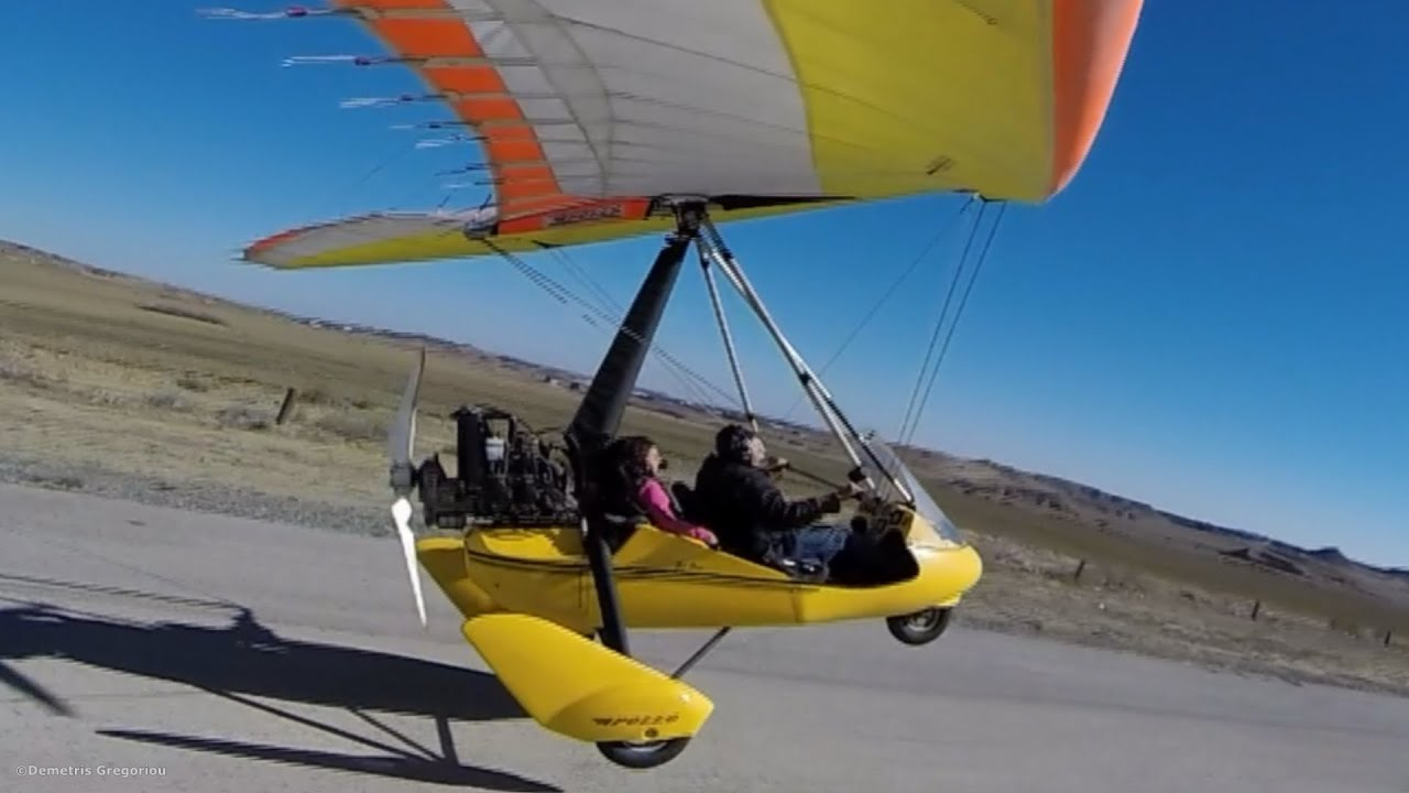 Ultralight Trike Ultra Short Flight Shortfield Takeoff