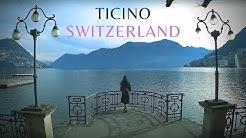 Discover Ticino Switzerland - Lugano Locarno Ascona in winter 4K How To Travel Switzerland
