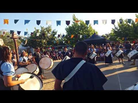 """Grupo de Bombos """"Bate Forte"""" na Feira Histórica e Tradicional de Vilarinho do Bairro 2018"""