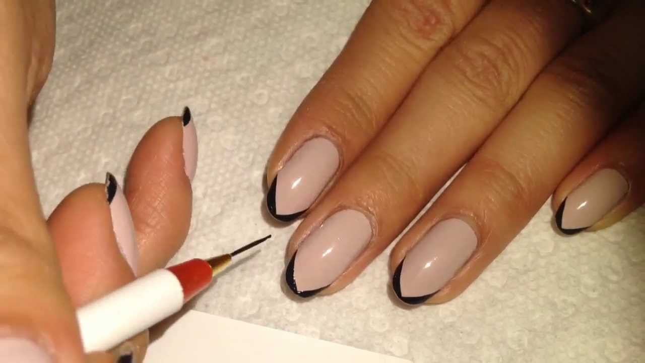 Simple elegant nail tutorial youtube prinsesfo Choice Image