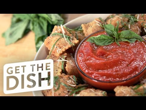 How To Make Olive Garden's Toasted Ravioli | Get The Dish