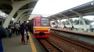 Kompilasi Kereta Api di Stasiun Parung Panjang
