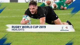 Rugby World Cup | QF 2 | New Zealand v Ireland | Highlights