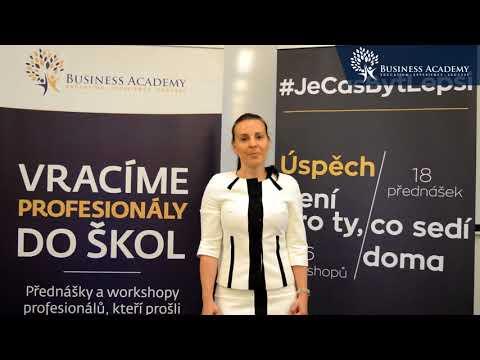 Rady řečníků #16 - Andrea Ungerová    Business Academy