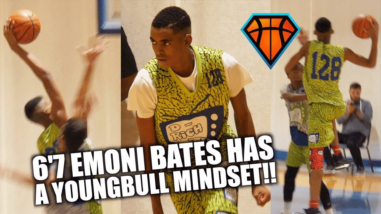 6'7 8th Grader Emoni Bates is the YOUNGBULL of Middle ...