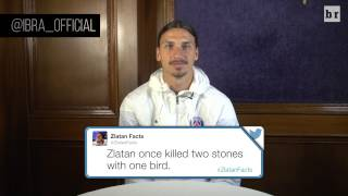 Video Soccer Legend Zlatan Ibrahimovic Reads His Favorite 'Zlatan Facts' download MP3, 3GP, MP4, WEBM, AVI, FLV Mei 2018
