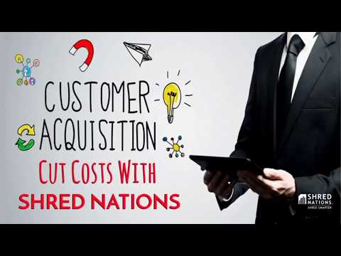 How Shred Nations Cuts the Cost of Customer Acquisition