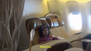 New York to Delhi by Air India