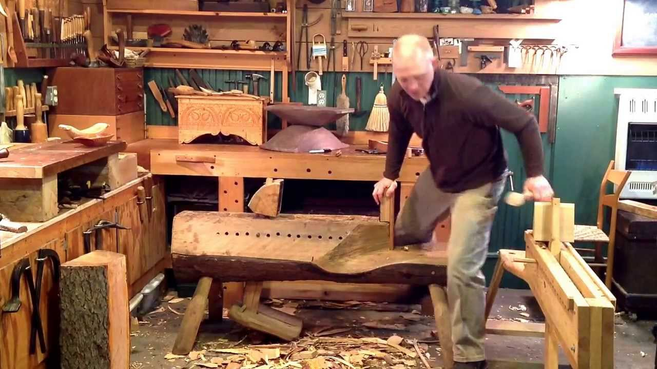Bowl Carving Horses - YouTube