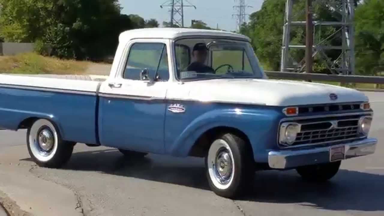 1966 ford 100 twin i beam classic pickup truck youtube