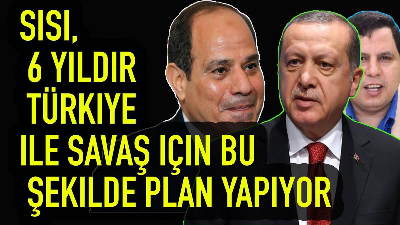 Sisi, 6 yıldır Türkiye ile savaş için bu şekilde plan yapıyor
