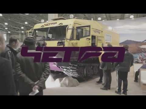видео: Люксовый российский вездеход ЧЕТРА ТМ-140 М2